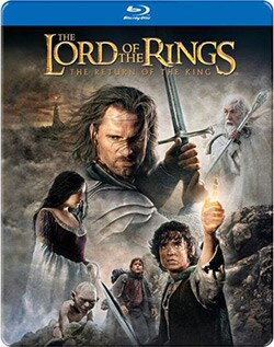 Lord of the Rings: The Return of the King Steelbook (Blu-ray Disc) 10928046