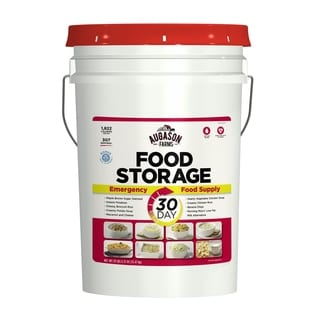 Emergency One Person 1-year Food Storage Pail Kit