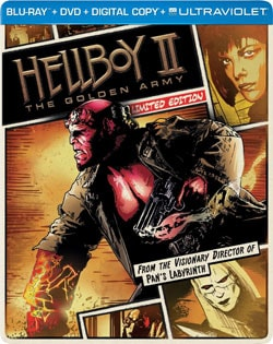 Hellboy II: The Golden Army - Limited Edition Steelbook (Blu-ray/DVD) 10968859