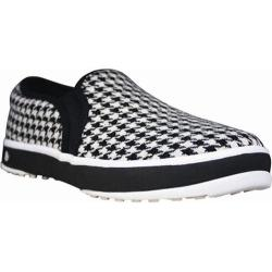 20bf397801ba Men s Dawgs Canvas Golf Crossover Shoe Black White Houndstooth ...