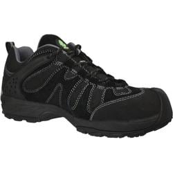 Men's Dawgs Ultralite 3in Flex Composite Toe Safety Shoe Black Cow Suede/Nylon
