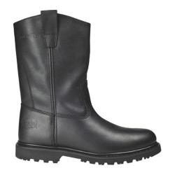 Men's Roadmate Boot Co. 833H 10in Flexible Wellington Black Oil Full Grain Leather