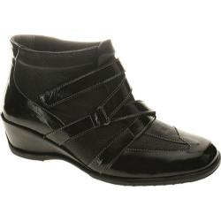Women's Spring Step Allegra Black Patent Multi Leather
