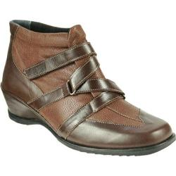 Women's Spring Step Allegra Brown Leather