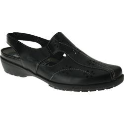 Women's Spring Step Asha Black Leather