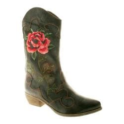 Women's Spring Step Cheyenne Black Leather