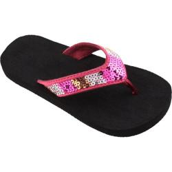 Girls' Tidewater Sandals Pink Sequins Pink/Gold/Silver