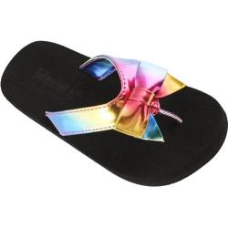 Girls' Tidewater Sandals Rain Bow Blue/Yellow/Red