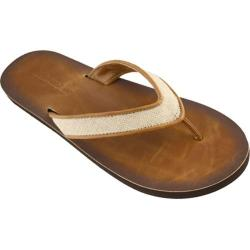 Women's Tidewater Sandals Simple Linen Tan/Brown