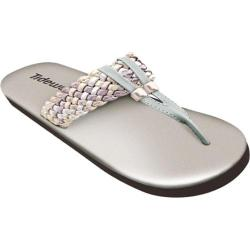Women's Tidewater Sandals Woven Metallic Bronze/Pewter/Silver