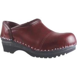 Women's Troentorp Bastad Clogs Picasso Black Cherry