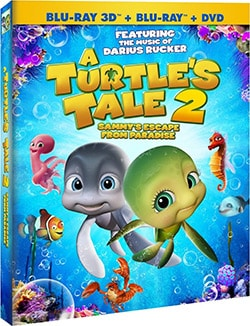 A Turtle's Tale 2 3D: Sammy's Escape From Paradise (Blu-ray/DVD) 11017658