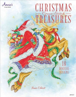 Christmas Cross-Stitch Treasures (Paperback)
