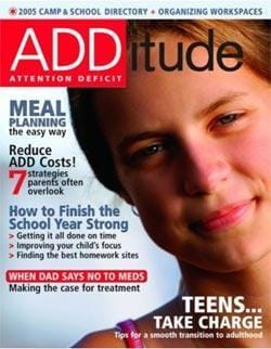ADDitude, 5 issues for 1 year(s)