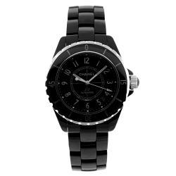Chanel Men's J12 Black Ceramic Watch