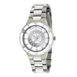 Game Time Women's MLB Seattle Mariners Logo Pearl Watch 9357736