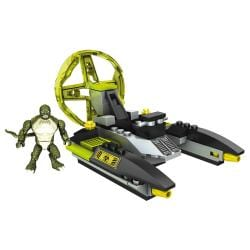 Mega Bloks Amazing Spider-Man Lizardman Sewer Speeder Playset 9408542
