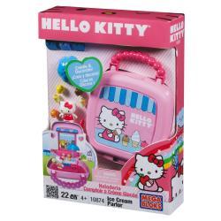 Mega Bloks Hello Kitty Ice Cream Shop Playset 9408573