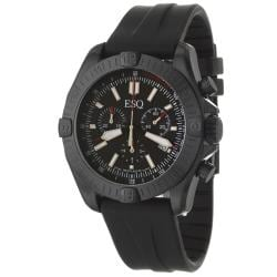 ESQ Men's 7301356 Stratus Round Black Strap Watch