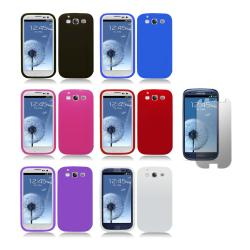 Samsung Galaxy S III (i9300) Premium Silicone Case/ Screen Protector