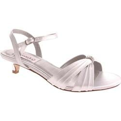 Women's Dyeables Fiesta White Satin