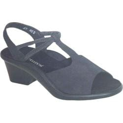 Women's Curvetures Jeri 661 Black Suede