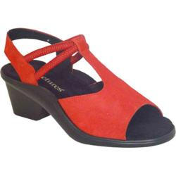 Women's Curvetures Jeri 661 Red Suede