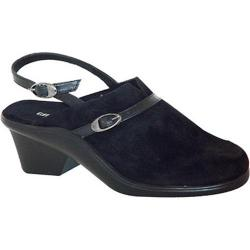 Women's Curvetures Bette 642 Black Suede