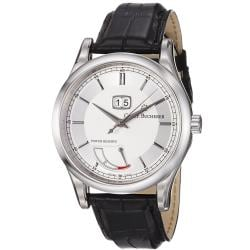 Carl F. Bucherer Men's 'Manero' Silver Dial Power Reserve Watch