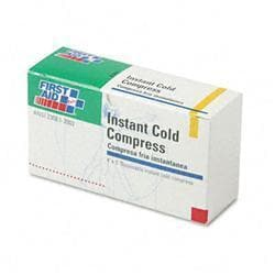 First Aid Instant Cold Compress, 1 Compress/Box,