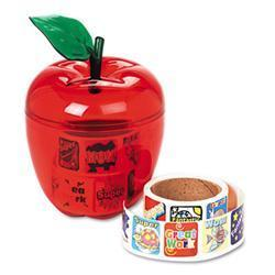 Pacon Stickers in Plastic Apple- Reward- 600