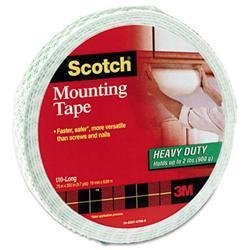 3M Foam Mounting Double-Sided Tape 3/4 Wide x