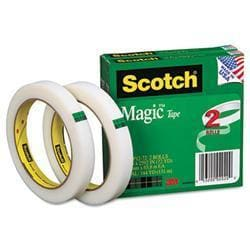3M Magic Tape 1/2 x2592 3 Core