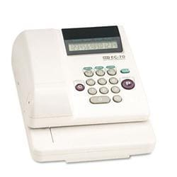 Max Usa Electronic Checkwriter 14-Digit 7-7/8w x