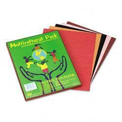 Pacon Multicultural Construction Paper 9 x 12 10