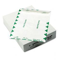 Quality Park White Leather Tyvek Mailer First
