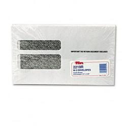 Tops Double Window Tax Form Envelope/Continuous