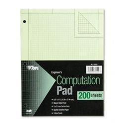 Tops Engineering Computation Pad Quadrille Rule