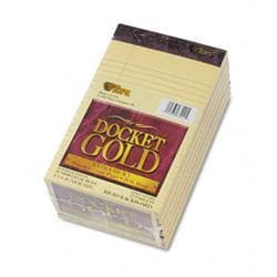 Tops Docket Gold Lgl Ruled Perforated Pad 5 x 8