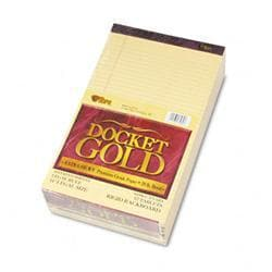 Tops Docket Gold Ruled Perforated Pad Legal