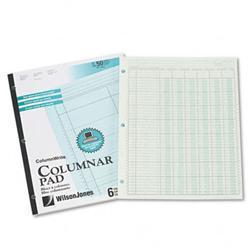 Wilson Jones Accounting Pad/Six 6-Unit Columns