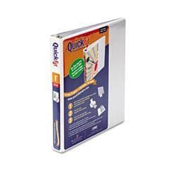Stride Quick Fit D-Ring View Binder- 1 Capacity-