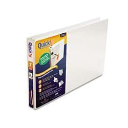 Stride Quick Fit Ledger D-Ring Binder- 1