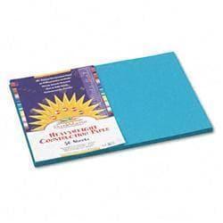 SunWorks Construction Paper- 58 lbs.- 12 x 18-