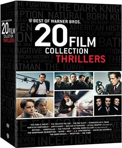 Best of Warner Bros. 20 Film Collection: Thrillers (DVD) 11143717