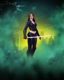 Batman: Arkham City Series 4 Talia Al Ghul Action Figure (Toy)