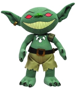 Pathfinder Licktoad Goblin Plush