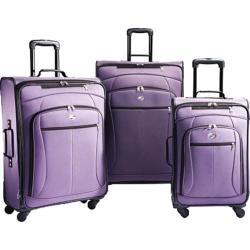 American Tourister by Samsonite AT POP 3 Piece Spinner Set Purple