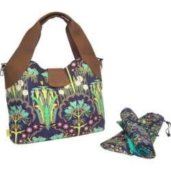 Women's Amy Butler Wildflower Diaper Bag Fuchsia Tree Navy