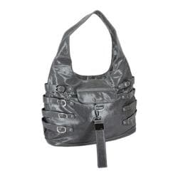 Women's Ann Creek Finger Straps Hobo Metallic Grey
